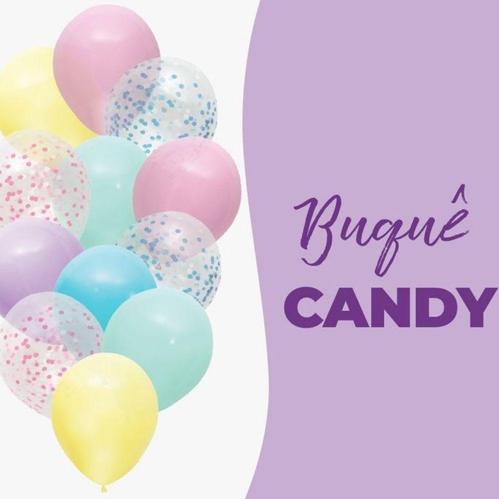 Balão 10 Balloontech Buquê Candy Colors c/12