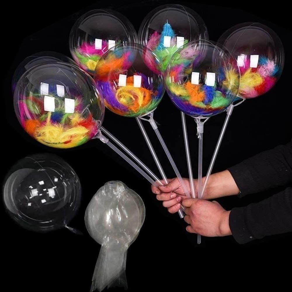 Balão Bubble 10 Polegadas (25cm) Kit c/100