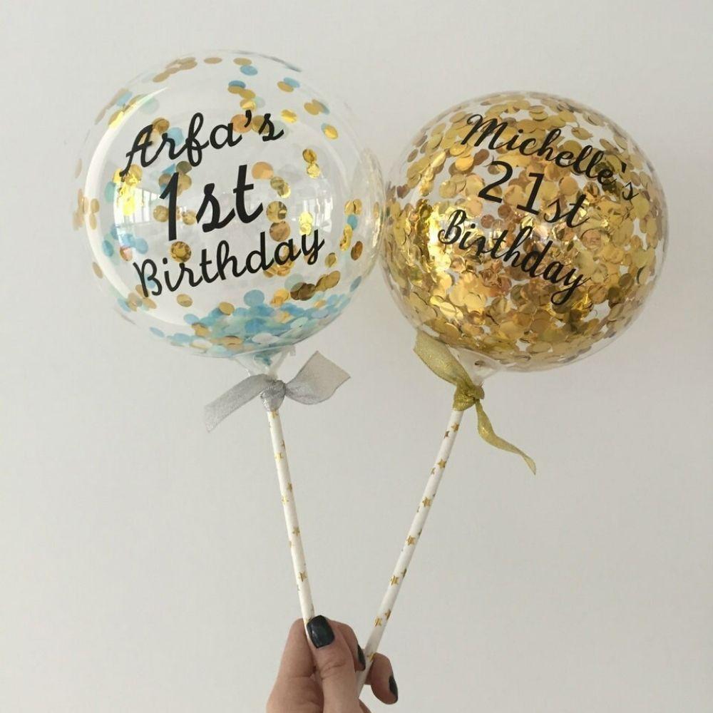 Balão Bubble 10 Polegadas (25cm) Kit c/40