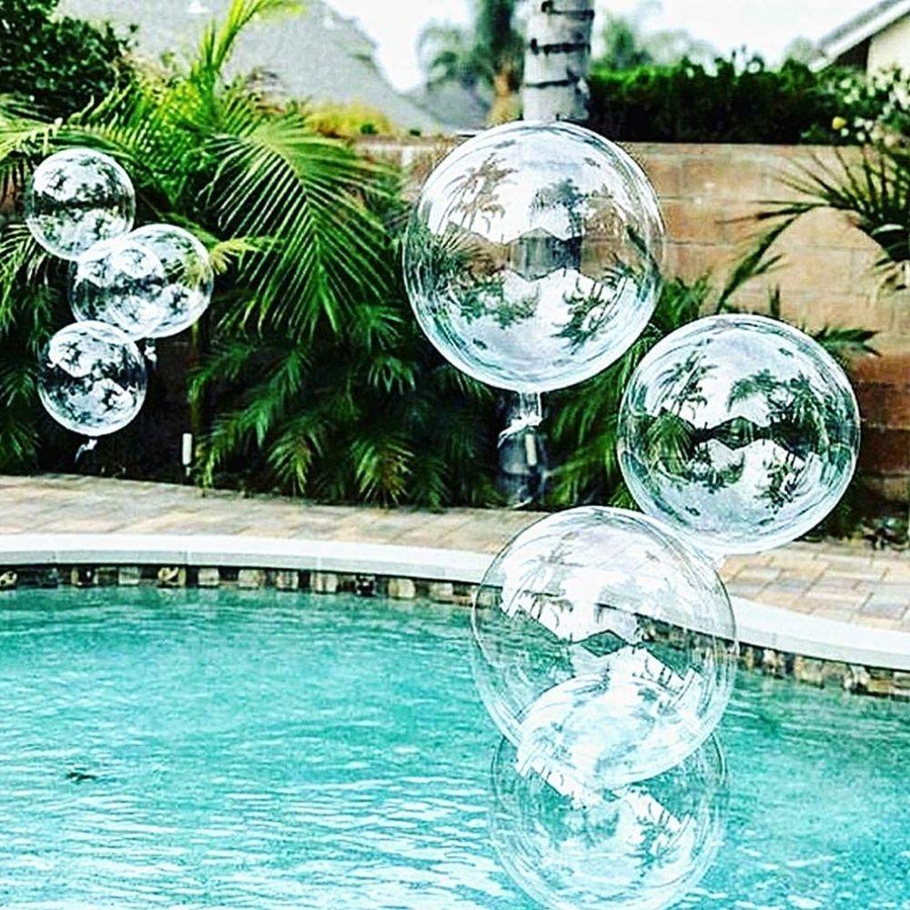 Balão Bubble Transparente 18 Polegadas (45 cm)