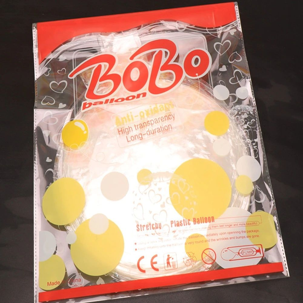 Balão Bubble Transparente 24 Polegadas (60 cm) Kit c/30