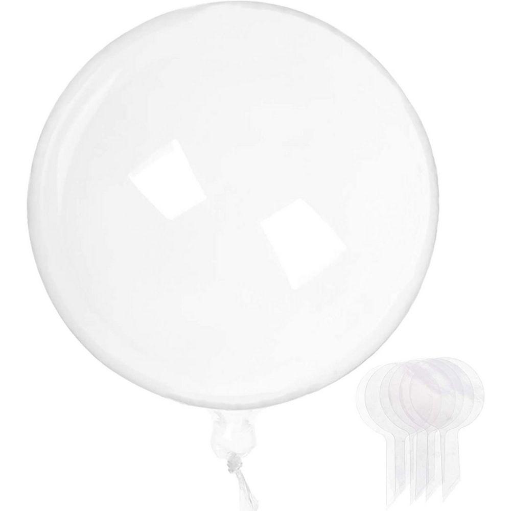 Balão Bubble Transparente 24 Polegadas (60 cm) Kit c/50