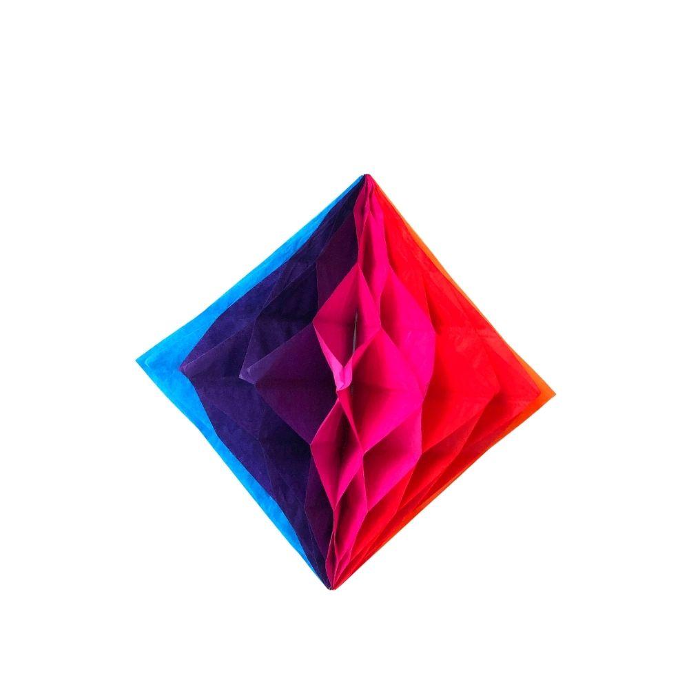 Balão Junino Origami 20cm