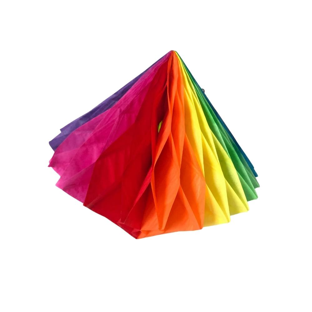 Balão Junino Origami 20cm Kit c/6 unid