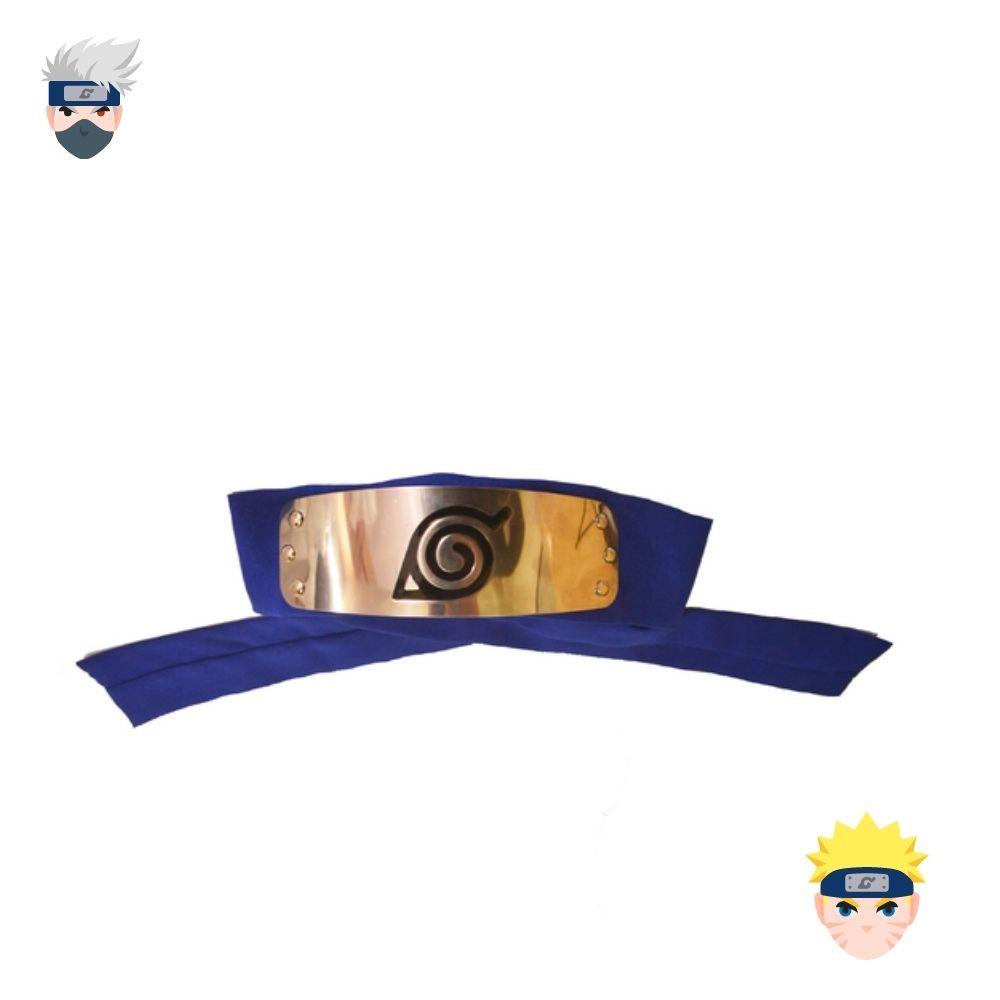 Bandana Naruto Vila da Folha - Azul
