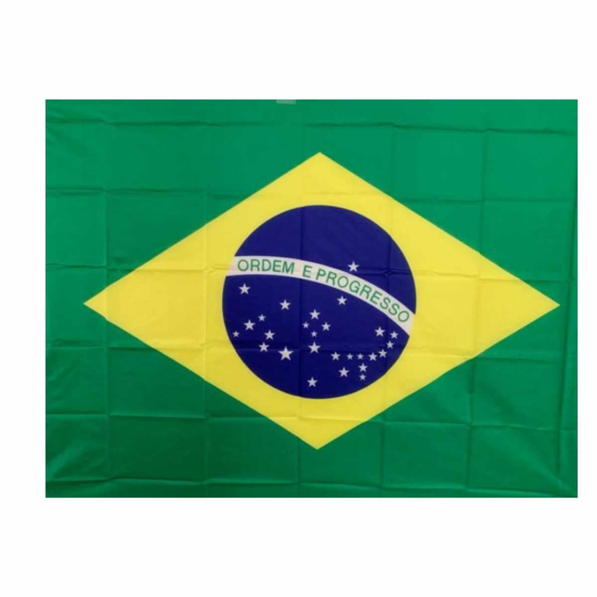 Bandeira do Brasil Tecido 60x90cm