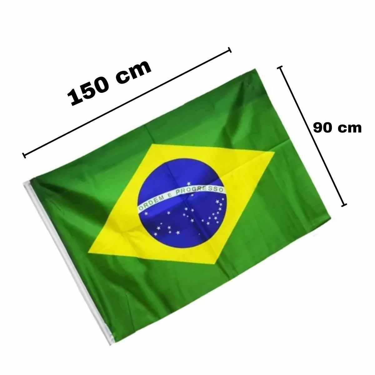 Bandeira do Brasil Tecido 90x150cm
