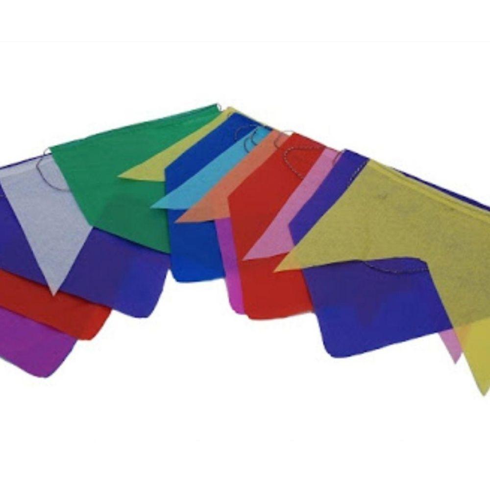 Bandeirinha Junina Papel de Seda 10M
