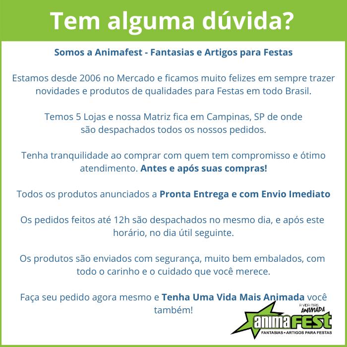 Bastão  Arlequina Good Night Estampado