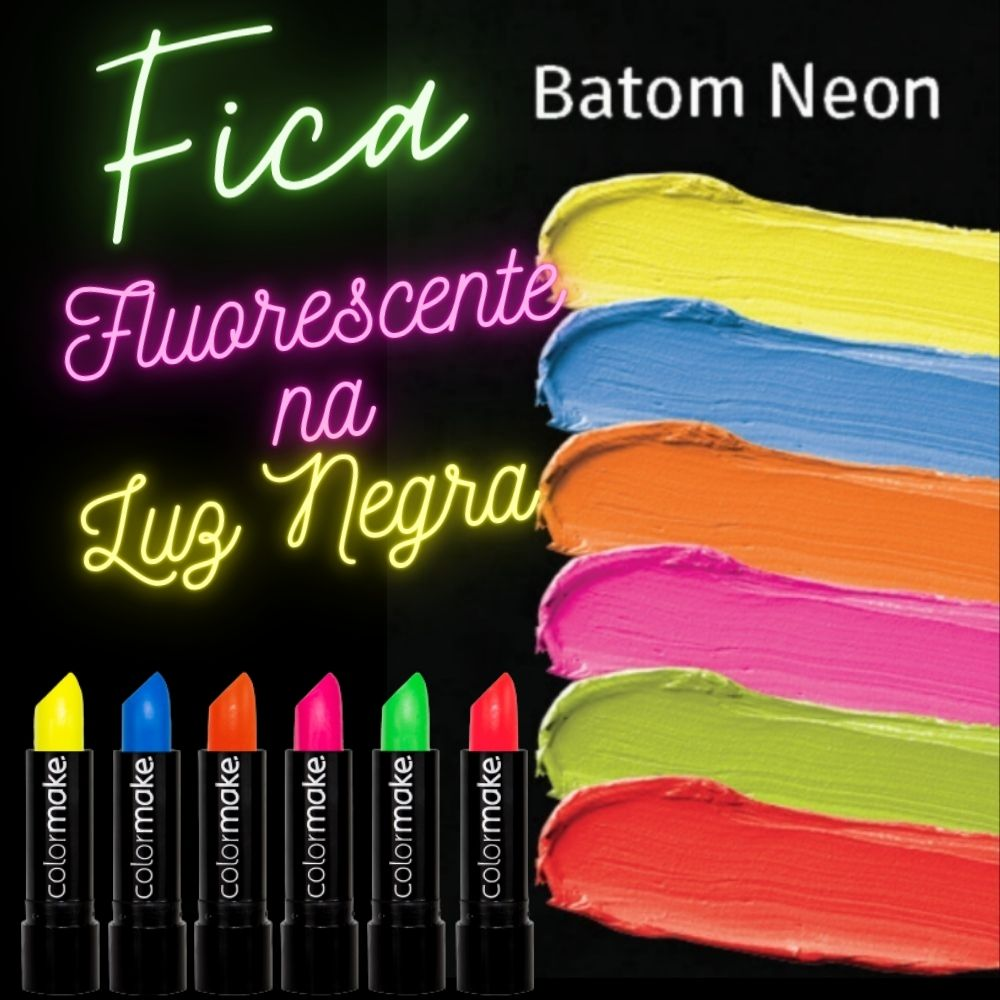 Batom Color Make Neon