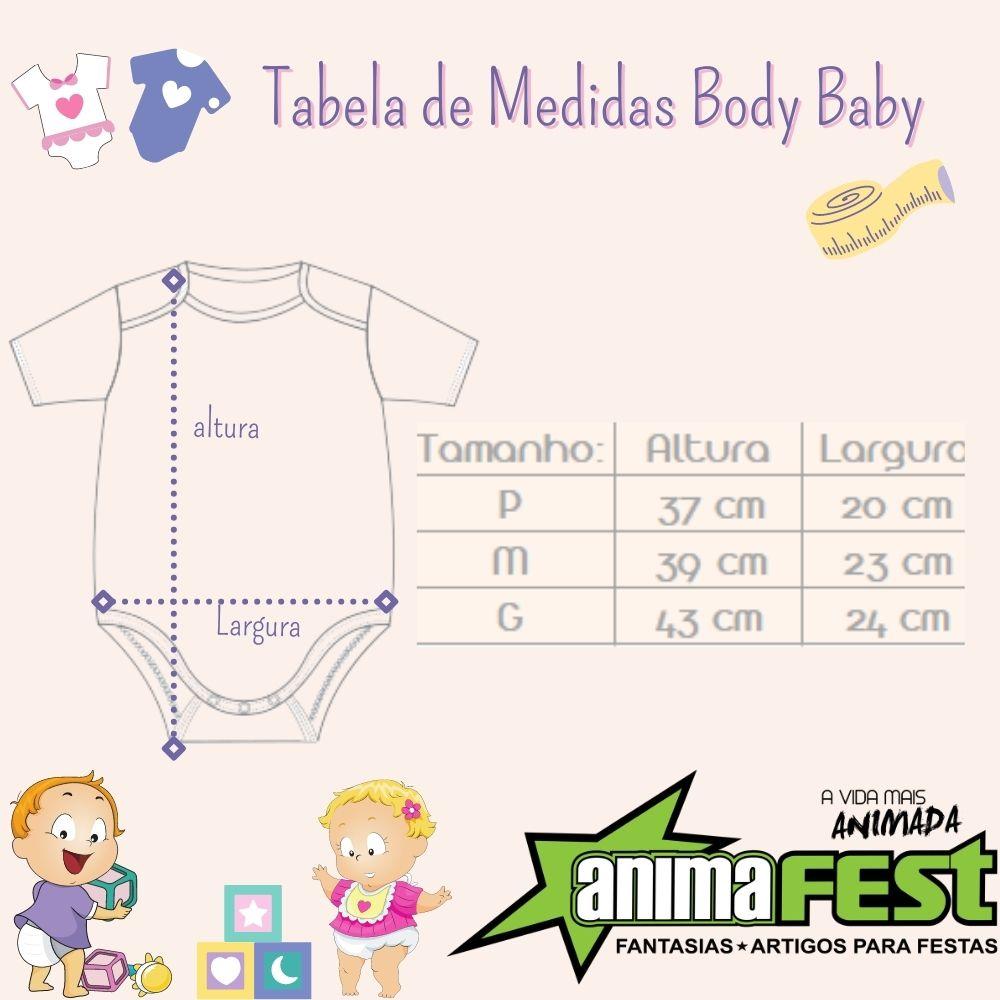 Body Moana Bebê