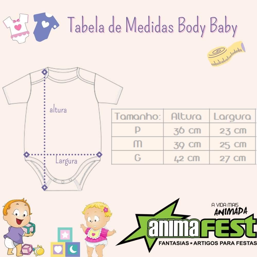 Body Mundo Bita Bebê