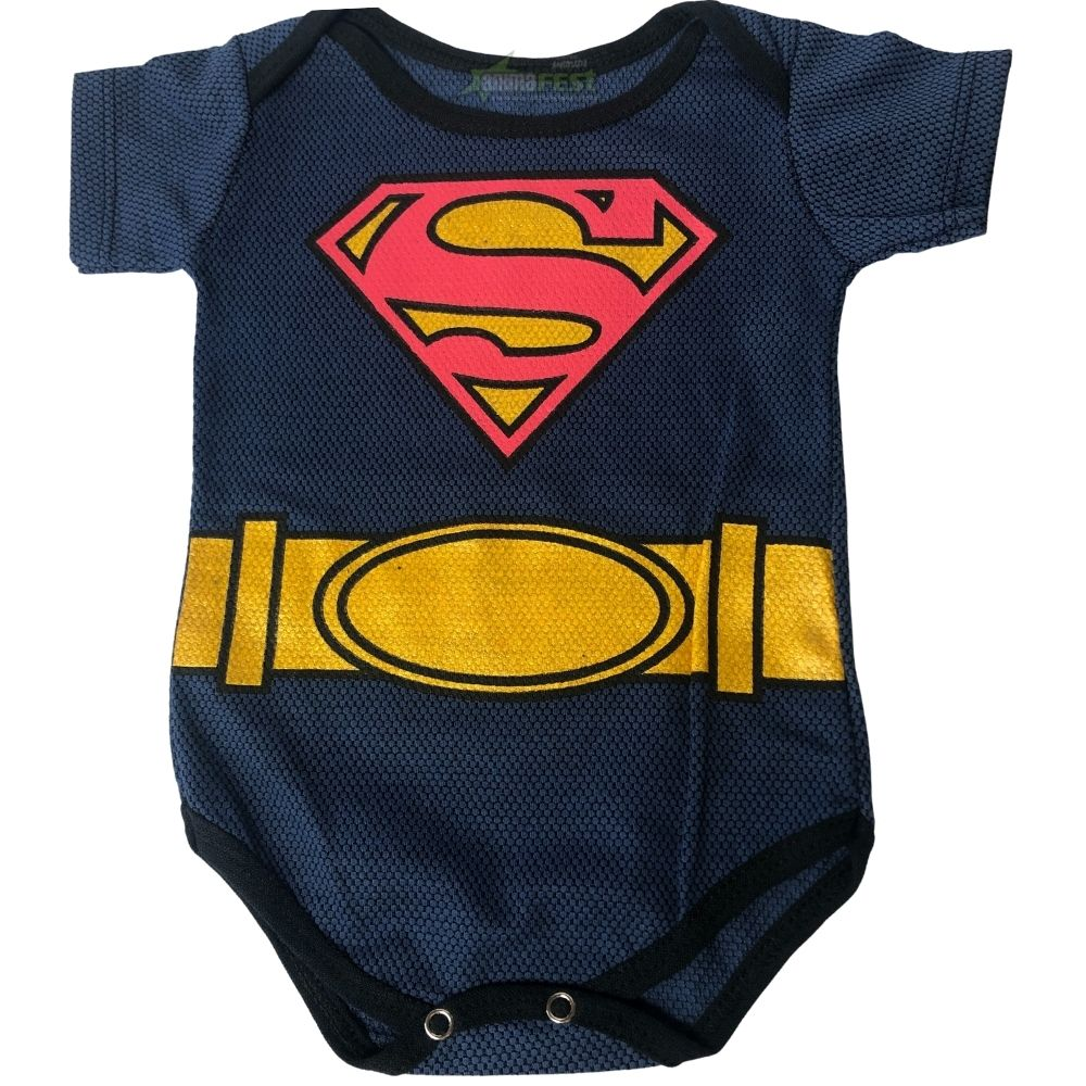 Body Super Homem Bebê