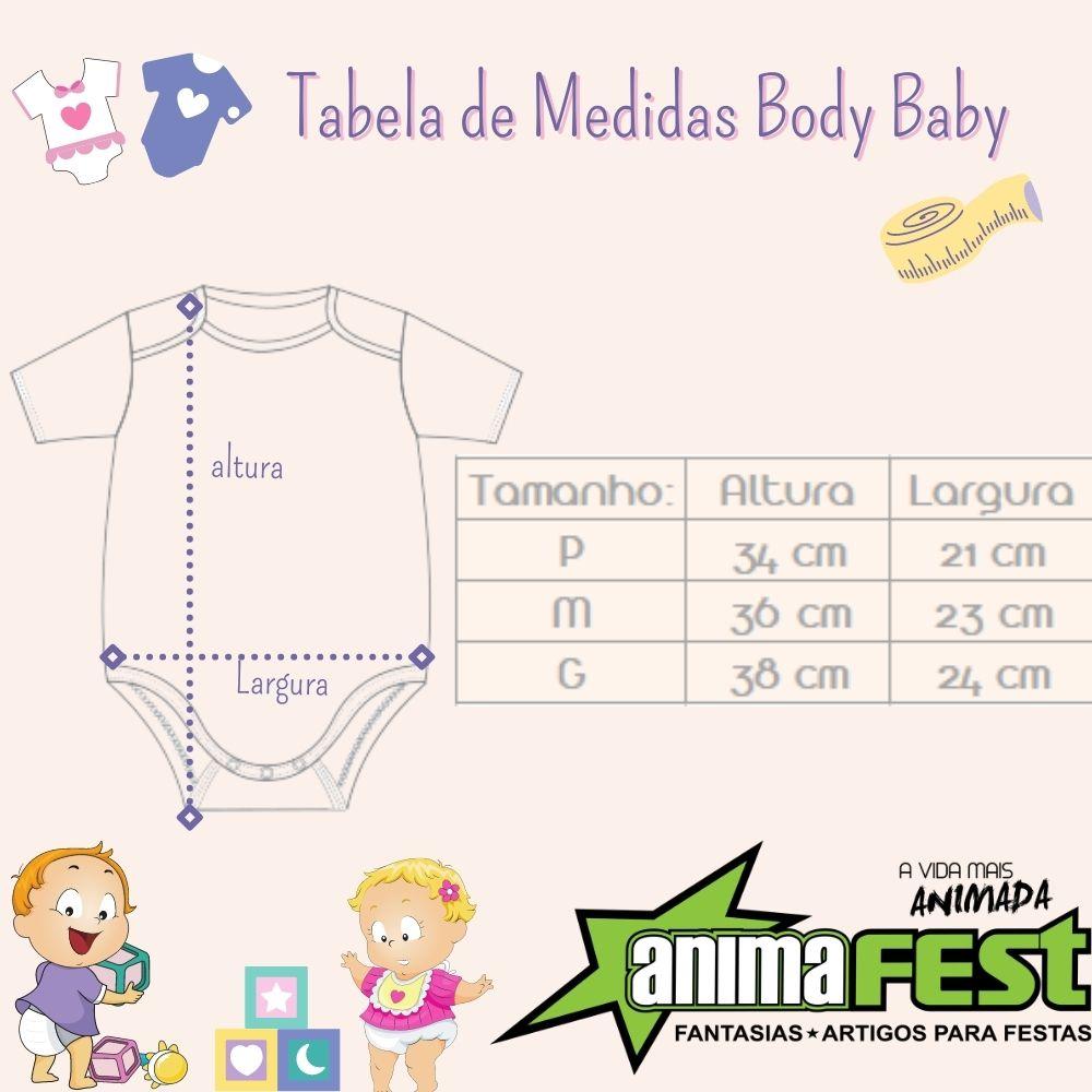 Body Unicórnio Bebê