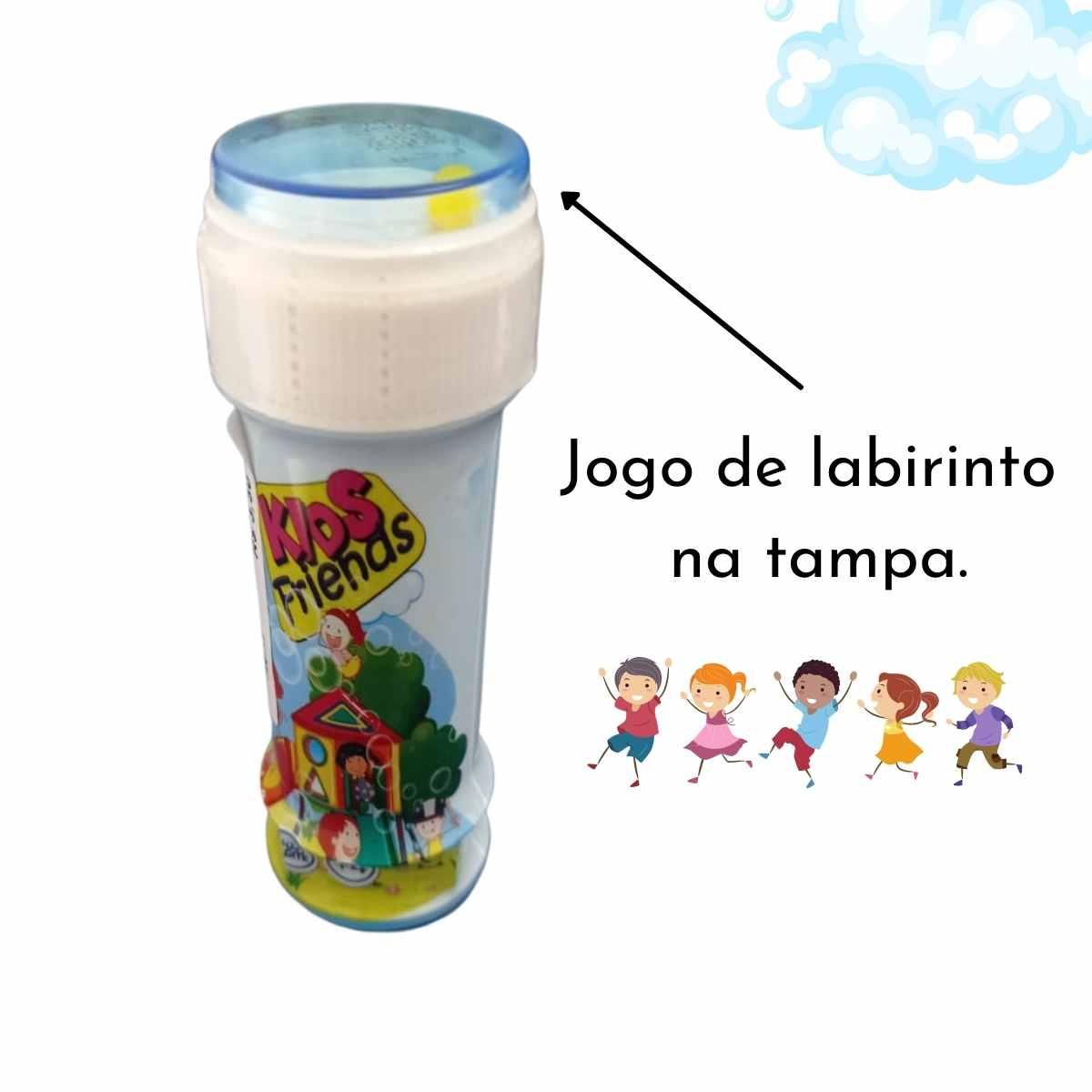 Bolha de Sabão Infantil 60ml
