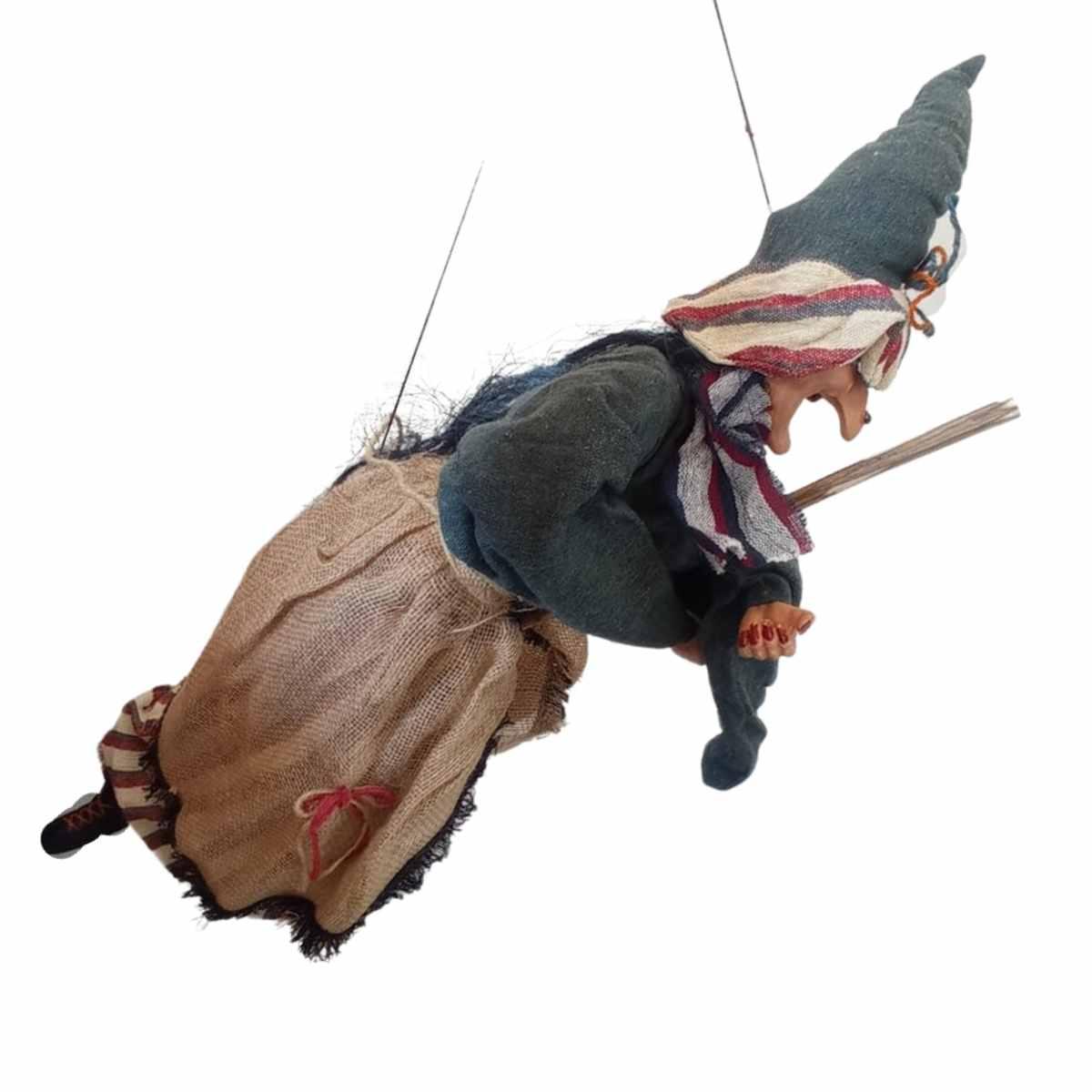 Bruxa Voando com Vassoura 1,00M