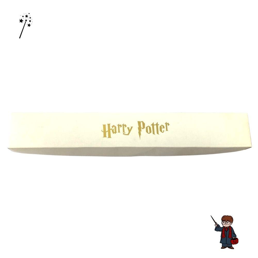 Caixa Porta Varinha Harry Potter Branca