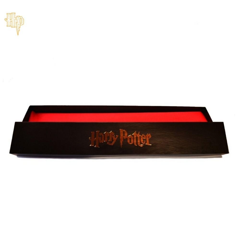Caixa Porta Varinha Harry Potter Preta