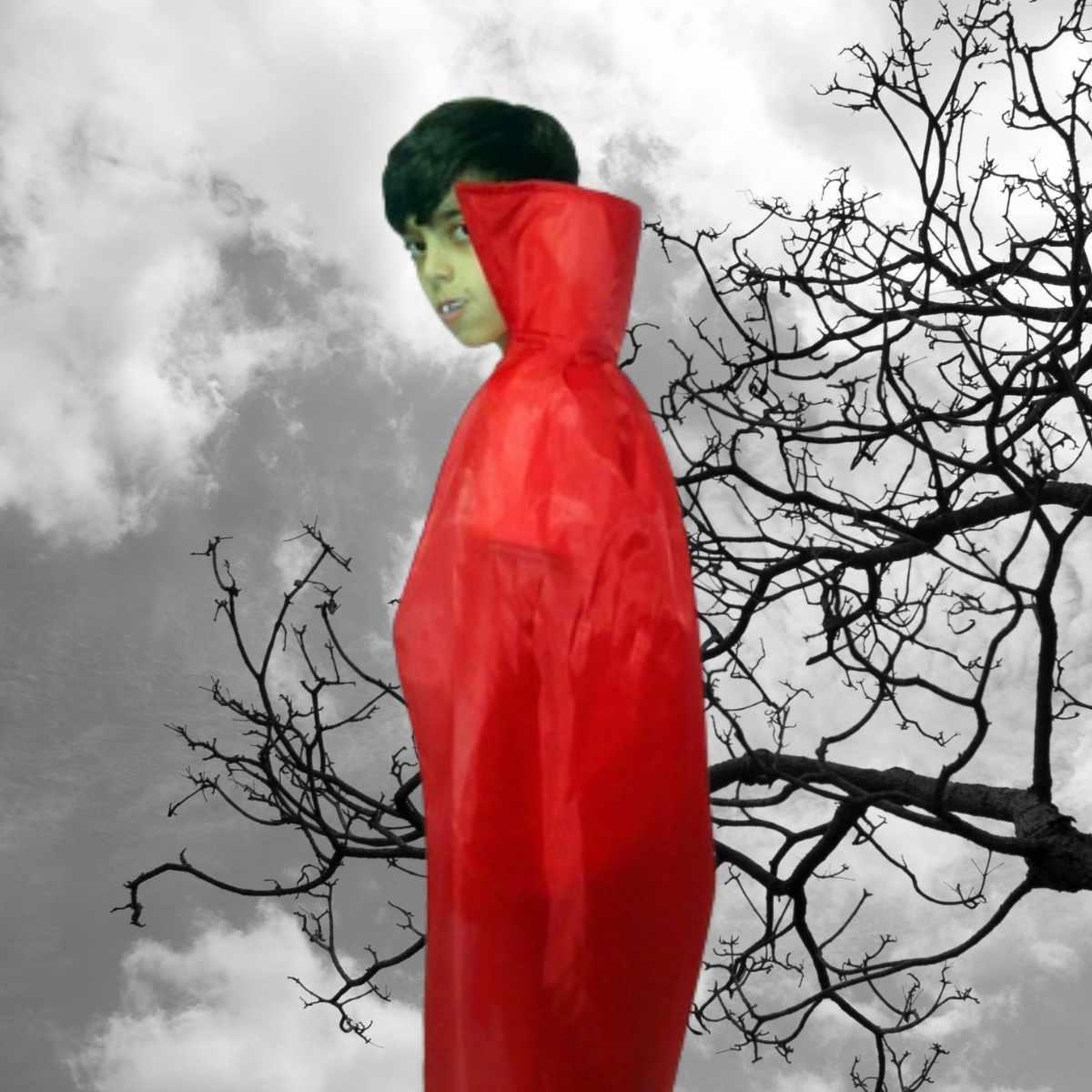 Capa Rei Juvenil Vermelha