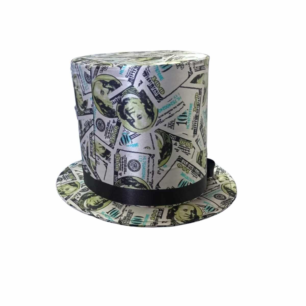 Cartola Dólar Cetim Adulto