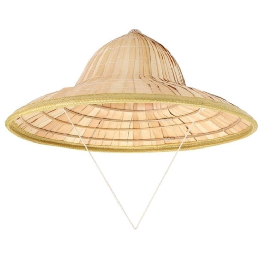 Chapéu Chinês Palha Cosplay 40cm