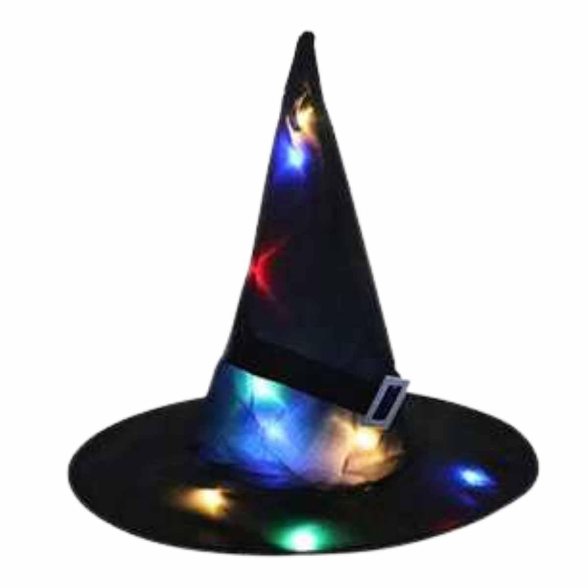 Chapéu de Bruxa com Led