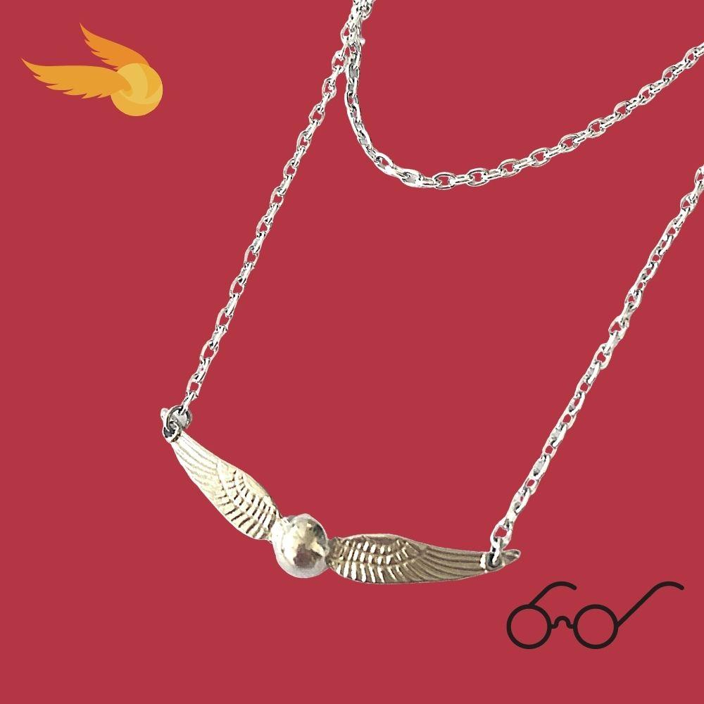 Colar Pomo de Ouro Harry Potter