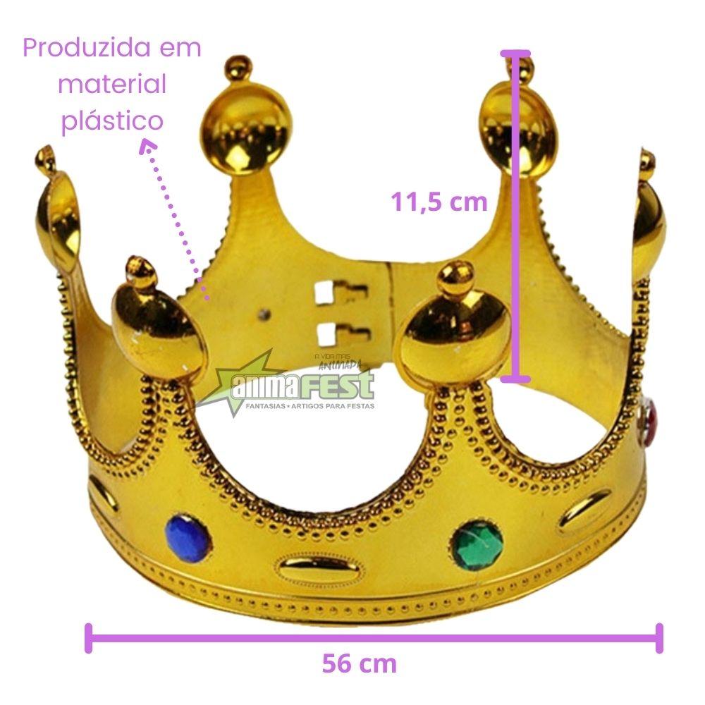 Coroa de Rainha Plástico
