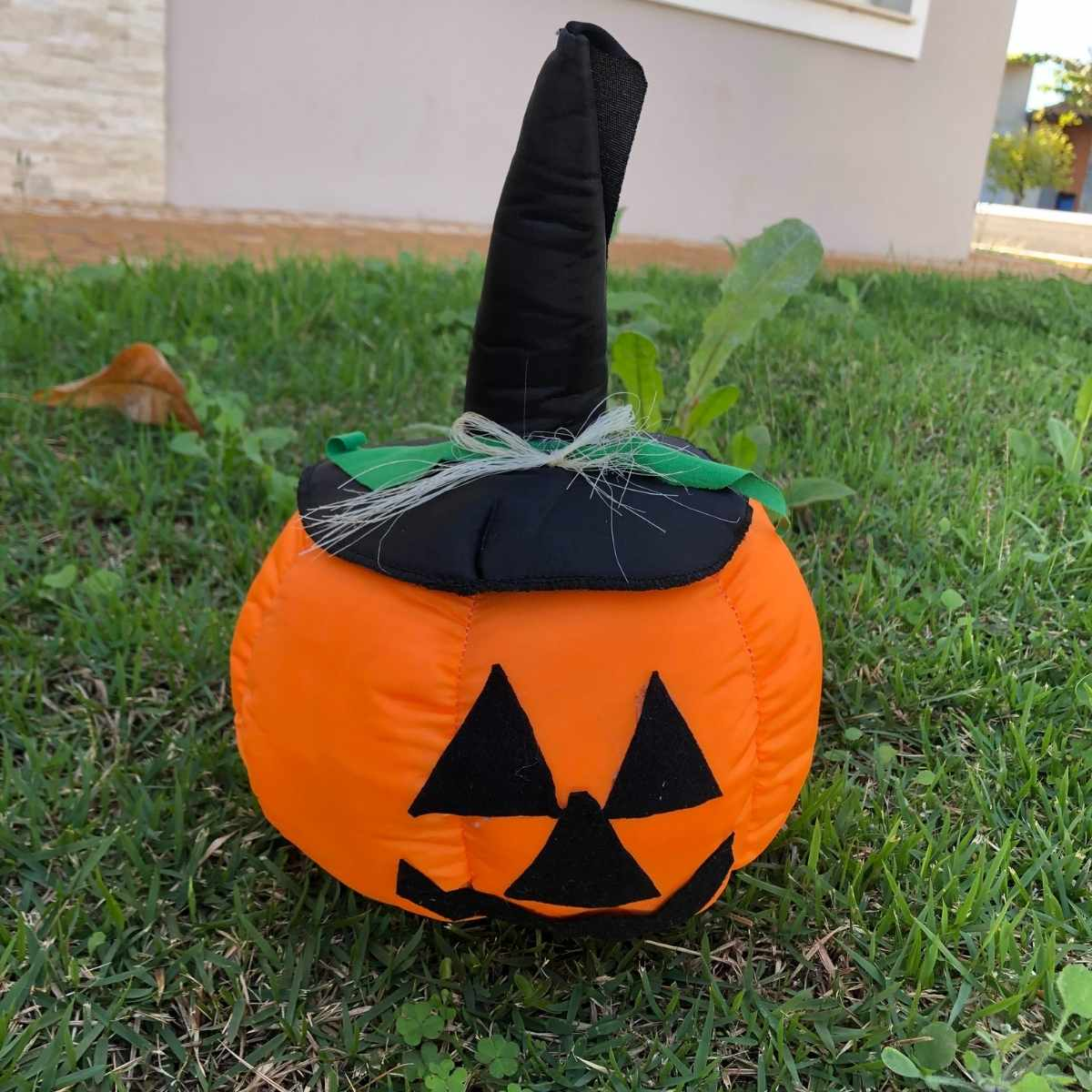 Enfeite Abóbora Decorativa Halloween 30cm