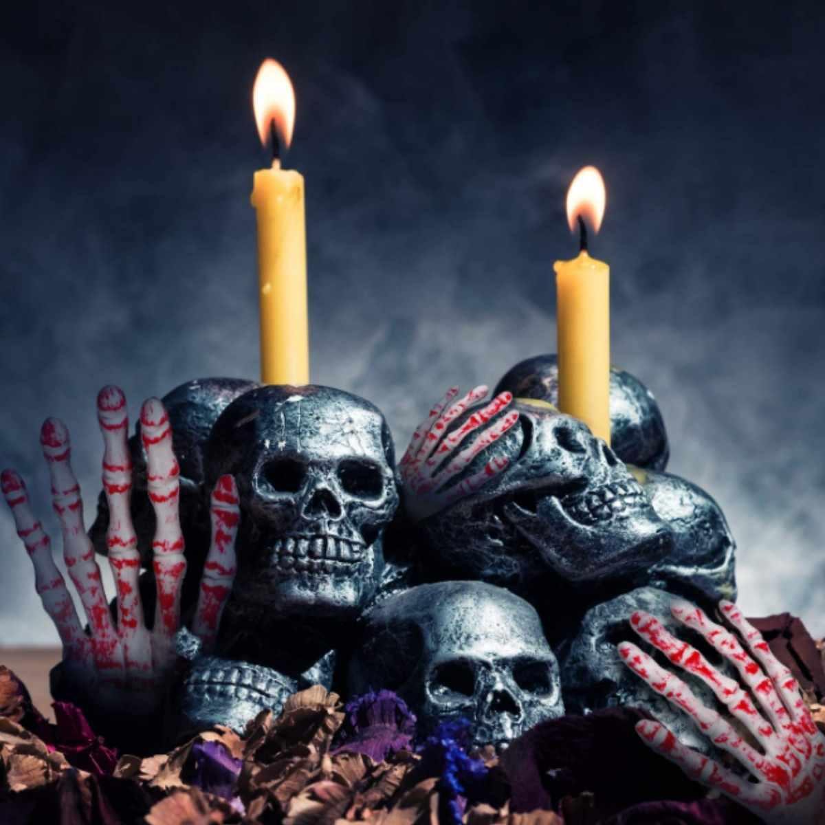 Enfeite Braço Halloween