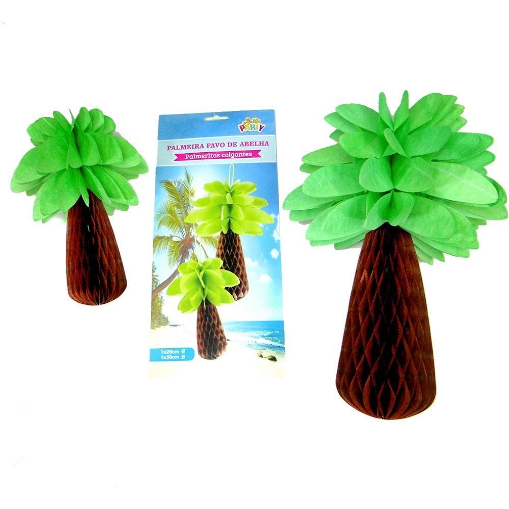 Enfeite Festa Havaiana Palmeira c/2 unid