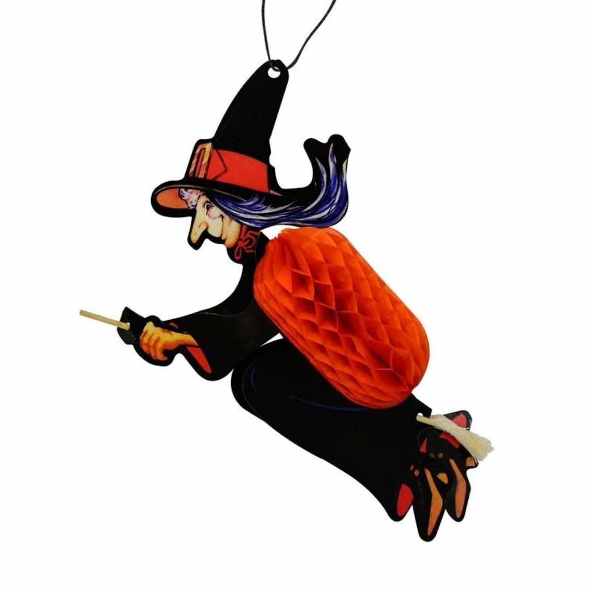 Enfeite Halloween Bruxa Xy1