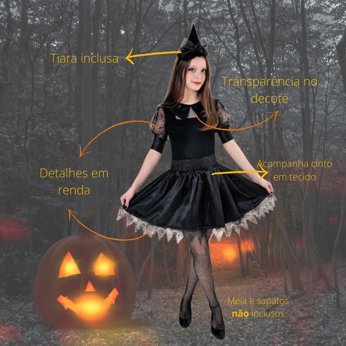 Fantasia Bruxa Dark Teen/adulto (AJ)