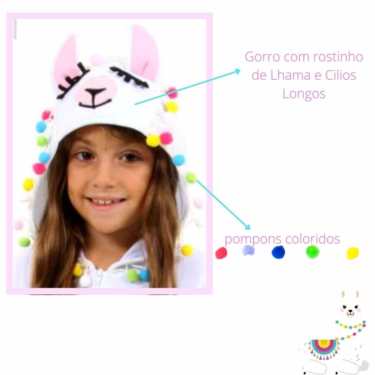 Fantasia Lhama Macacão (SL)