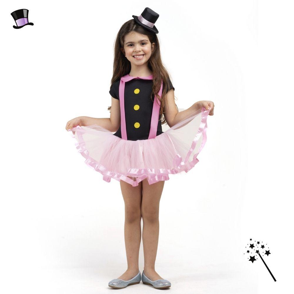 Fantasia Mágica Mundo Bita Infantil Feminina FF