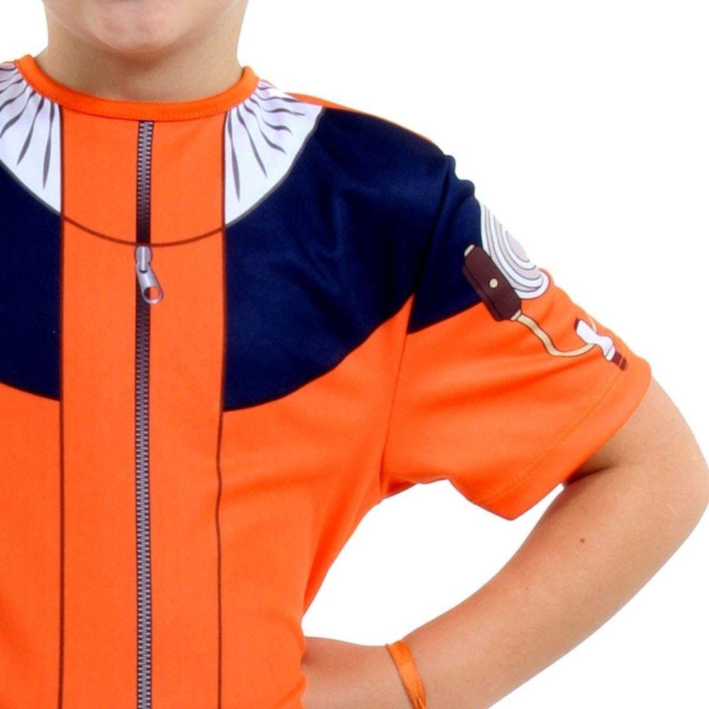 Fantasia Naruto Curto Infantil com Máscara (SL)