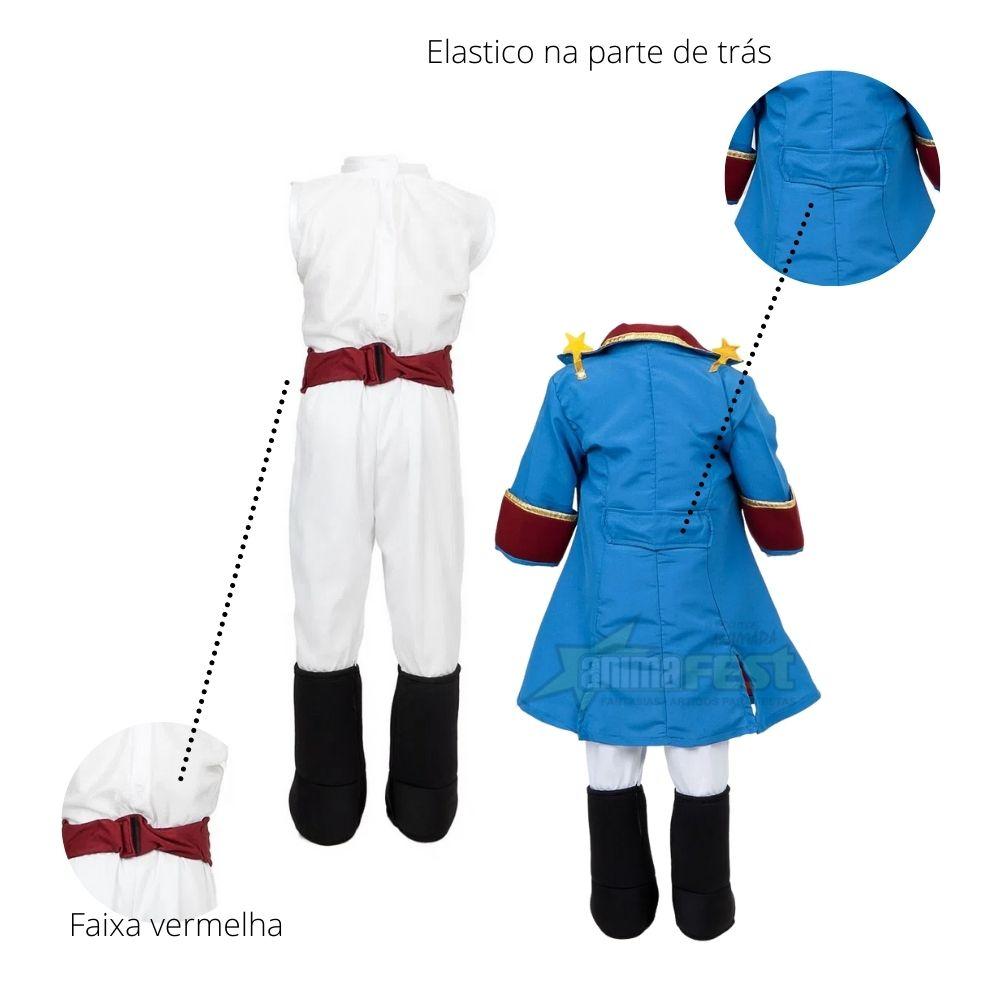 Fantasia Pequeno Principe Bebê 1 Ano Tamanho Único (SL)