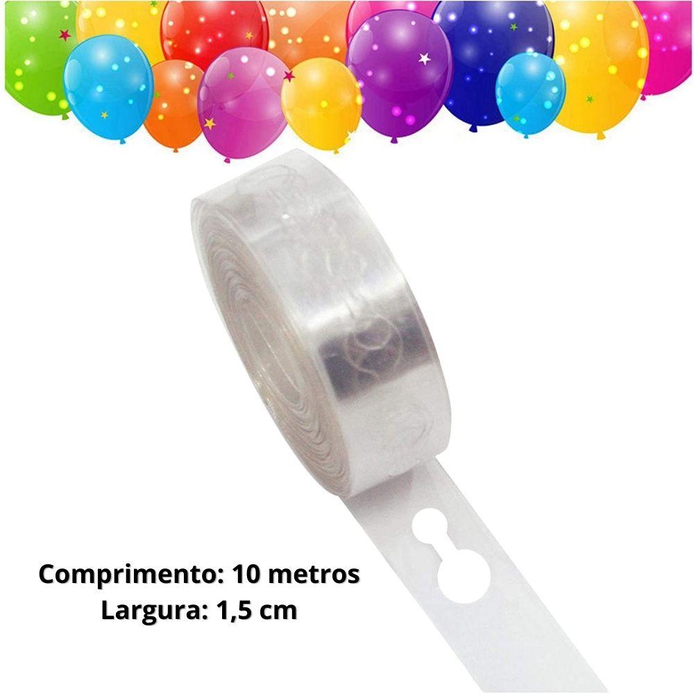 Fita para Balões - Arco Desconstruído 10 Metros