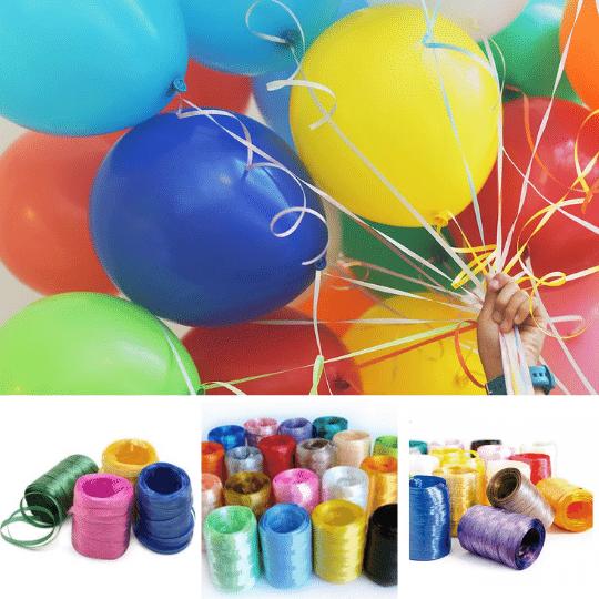 Fitilho Plástico para Embalagens e Presentes 05mmx50m com 10 unidades