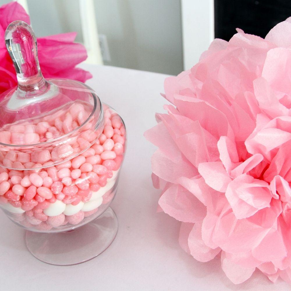 Flores Decorativas Seda Rosa c/2 unid
