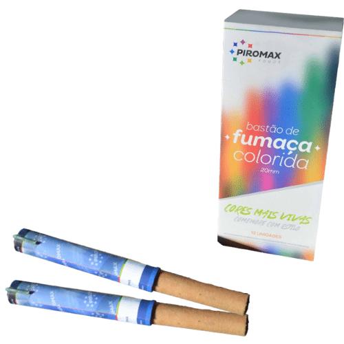 Fumaça Azul para Chá de Revelação c/2 (Piromax)