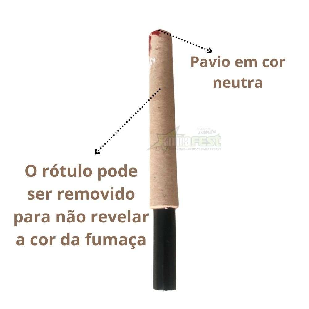 Fumaça Azul para Chá de Revelação c/3