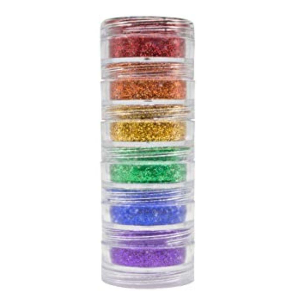 Glitter em Pó com 6 cores Pride