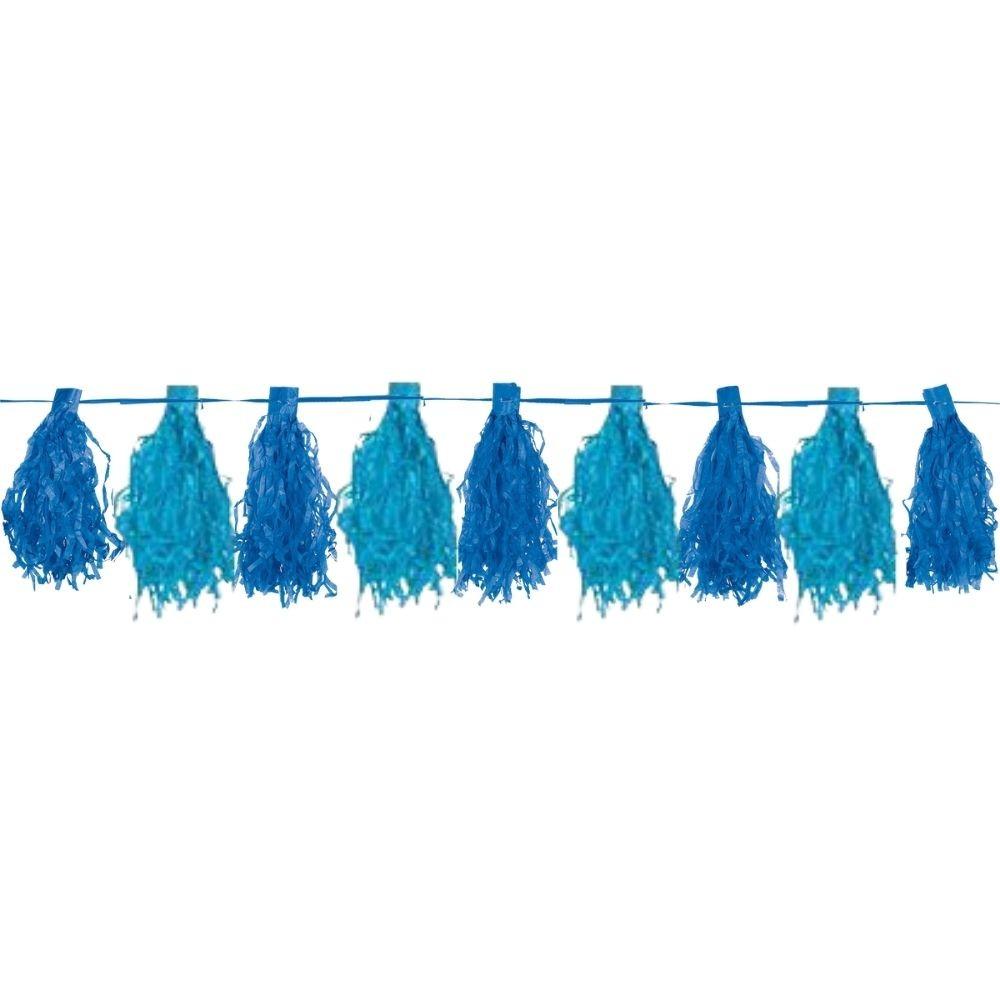Varal Decorativo Pompom Azul c/4 metros