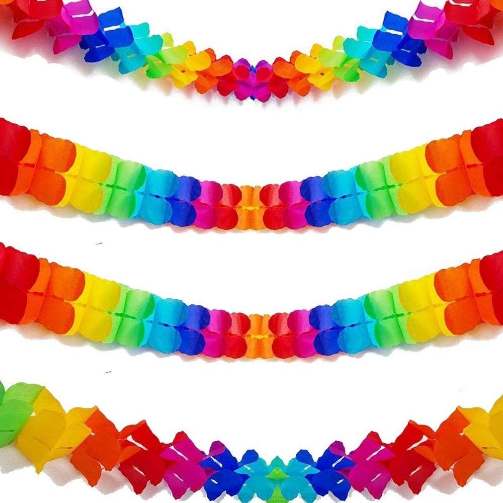 Guirlanda Decorativa Rainbow Modelos Sortidos c/4 metros