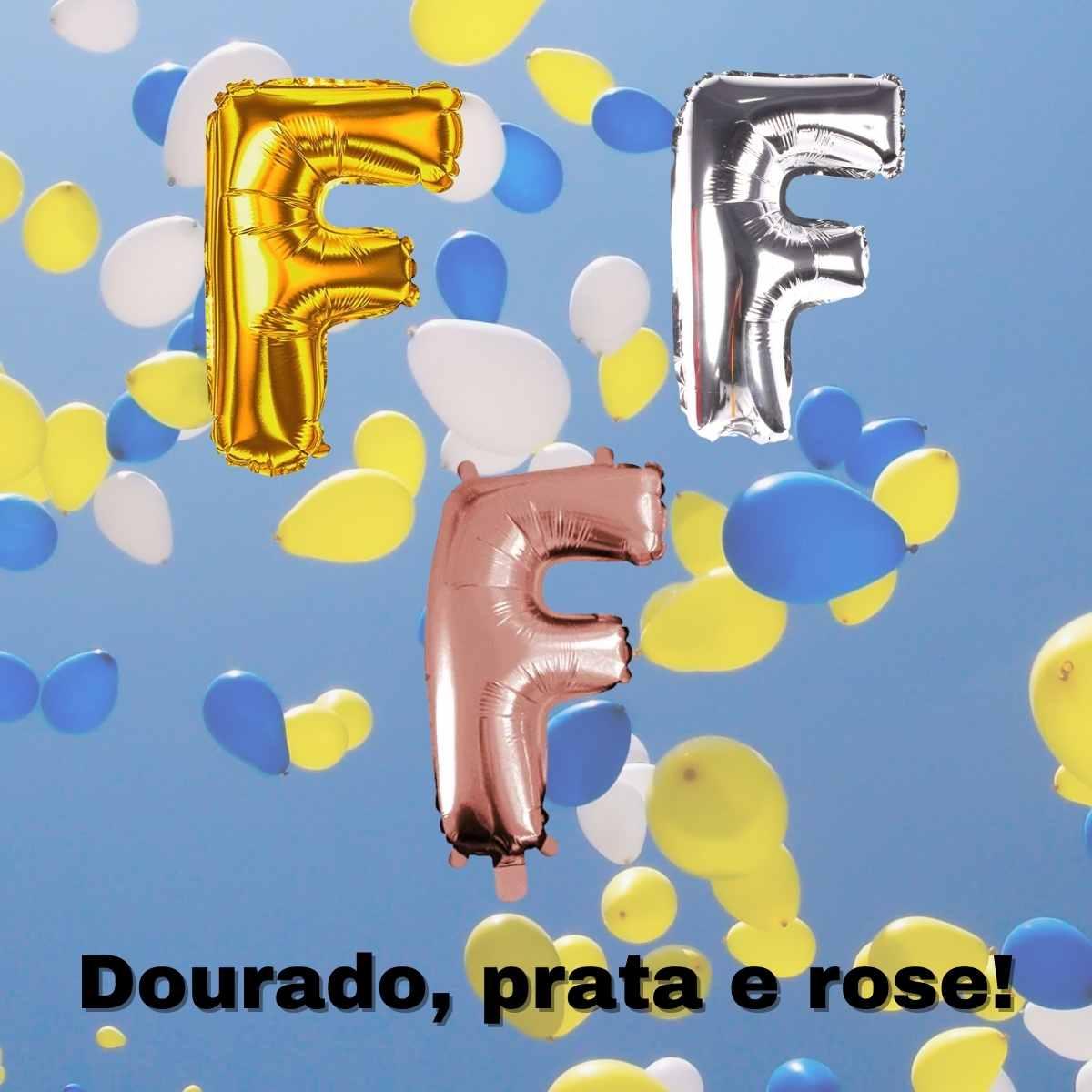 Kit Balão Feliz Aniversario 40cm