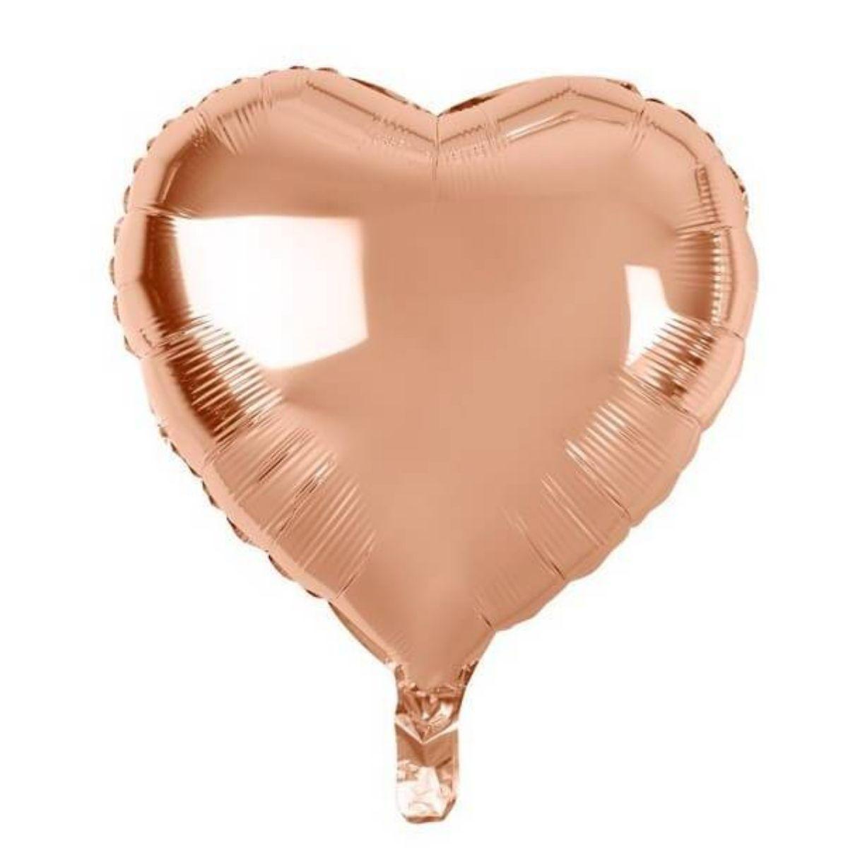 Kit Buquê de Balões Rosé c/ 9 peças