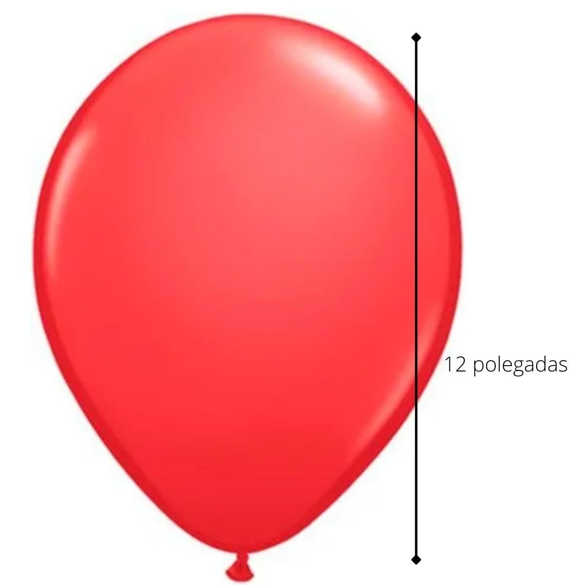 Kit Buquê de Balões Vermelho c/ 9 peças