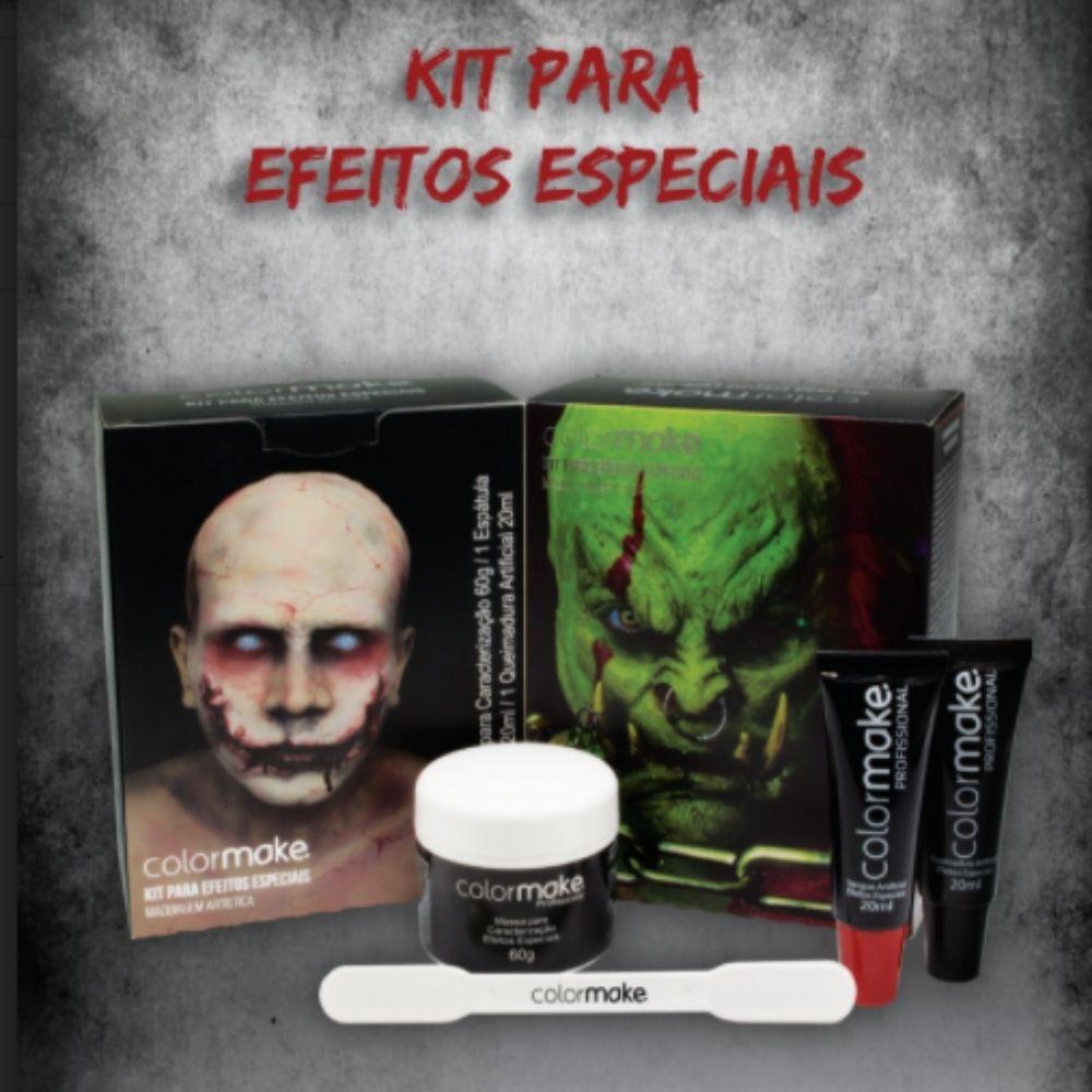 Kit Cenográfico Terror e Efeitos Especiais Colormake