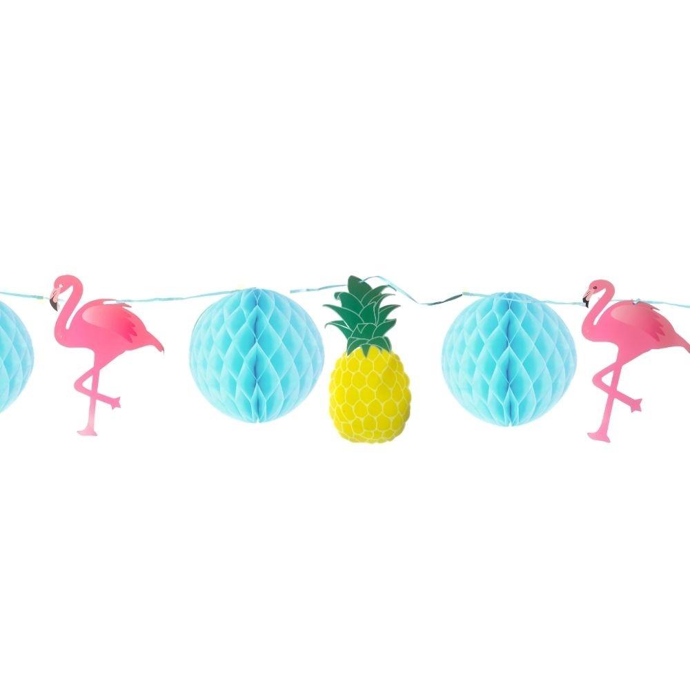 Kit Decorativo Festa Havaiana (10 peças)